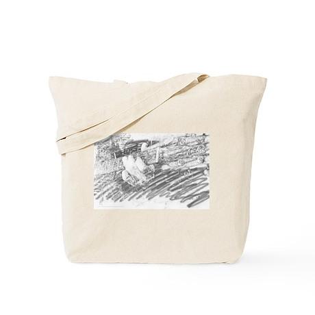 Guitar Sketch Tote Bag