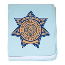 Harris County Sheriff baby blanket