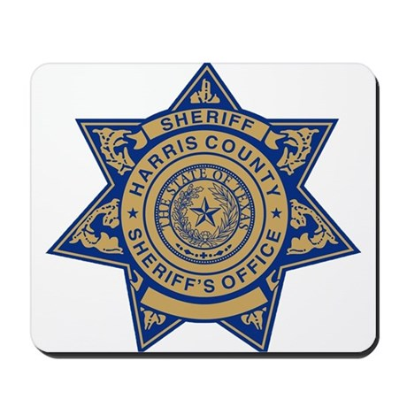 Harris County Sheriff Mousepad