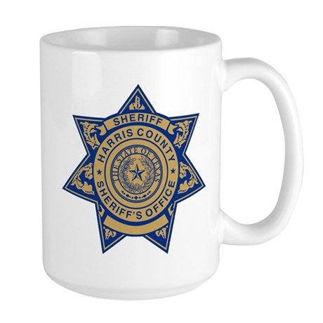 Harris County Sheriff Large Mug