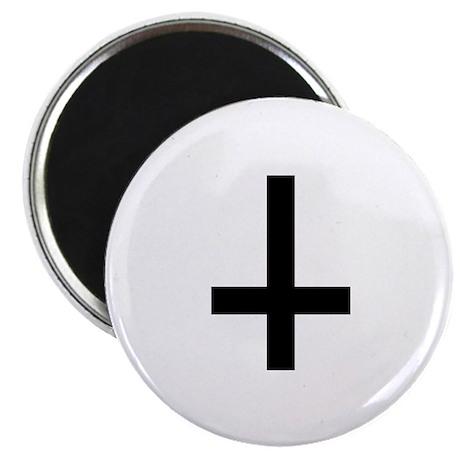 "Cross antichrist 2.25"" Magnet (10 pack)"