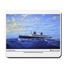 "New! ""SS United States"" by Ja Mousepad"