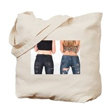 Jeans Girls Tote Bag