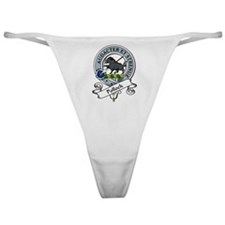 Pollock Clan Badge Classic Thong