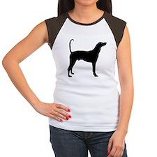 Plott Hound Women's Cap Sleeve T-Shirt