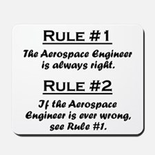 Aerospace Engineer Mousepad