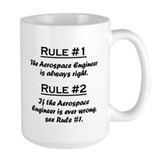 Aerospace engineer Large Mugs (15 oz)