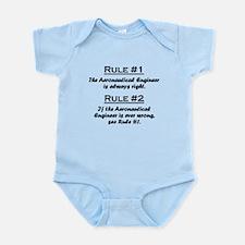 Aeronautical Engineer Infant Bodysuit