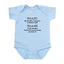 Aerobics Instructor Infant Bodysuit