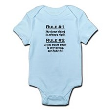 Court Clerk Infant Bodysuit