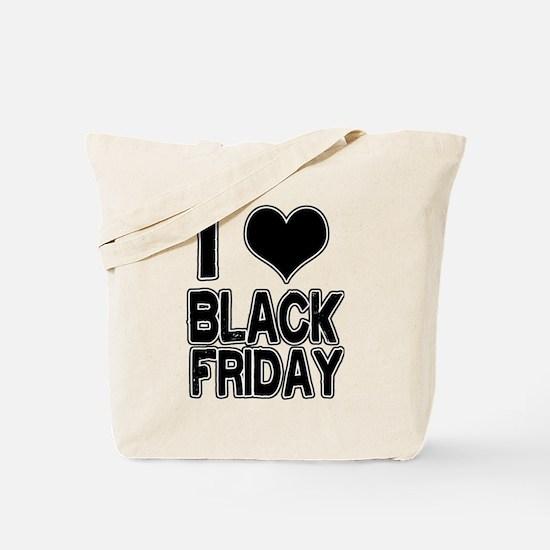 Love Black Friday Tote Bag