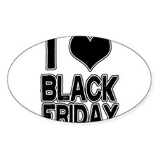 Love Black Friday Decal