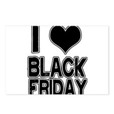 Love Black Friday Postcards (Package of 8)