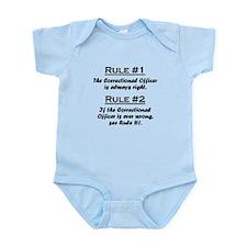Correctional Officer Infant Bodysuit