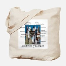 Lighthouses of Lake Erie Tote Bag