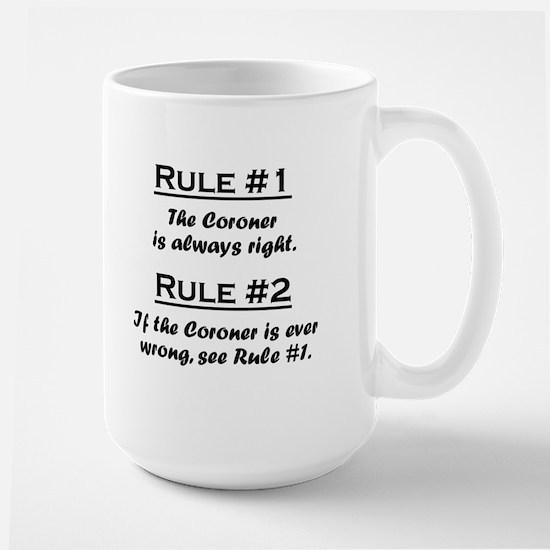 Coroner Large Mug
