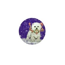 West Highland Let it Snow Mini Button