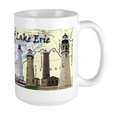 Lighthouses of Lake Erie Mug