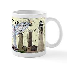 Lighthouses of Lake Erie Small Mug