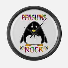 Penguin Large Wall Clock