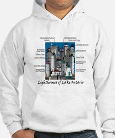 Lighthouses Of Lake Ontario Hoodie