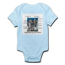Lighthouses of Lake Ontario Infant Bodysuit