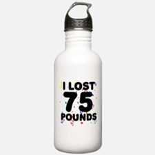 I Lost 75 Pounds! Water Bottle
