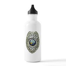 Belleair Florida Police Water Bottle