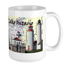 Lighthouses of Lake Ontario Mug
