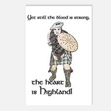 Unique Highlands Postcards (Package of 8)