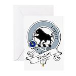Nesbitt Clan Badge Greeting Cards (Pk of 10)