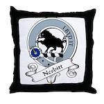 Nesbitt Clan Badge Throw Pillow