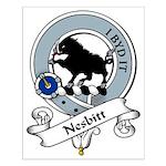 Nesbitt Clan Badge Small Poster