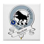 Nesbitt Clan Badge Tile Coaster