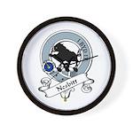 Nesbitt Clan Badge Wall Clock