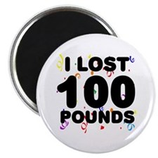 I Lost 100 Pounds! Magnet