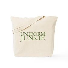 Uniform Junkie Tote Bag