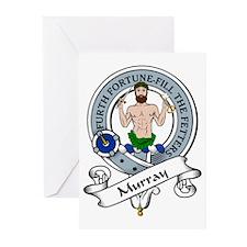 Murray Clan Badge Greeting Cards (Pk of 10)