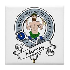 Murray Clan Badge Tile Coaster