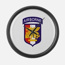 Cute Airborne Large Wall Clock