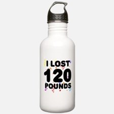 I Lost 120 Pounds! Water Bottle