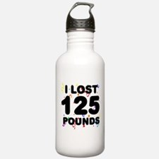 I Lost 125 Pounds! Water Bottle