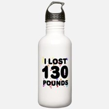 I Lost 130 Pounds! Water Bottle