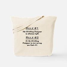 Clothing Designer Tote Bag