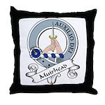 Muirhead Clan Badge Throw Pillow