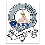 Muirhead Clan Badge Small Poster