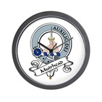 Muirhead Clan Badge Wall Clock