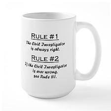 Civil Investigator Mug