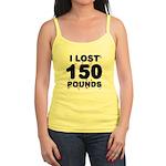 I Lost 150 Pounds! Jr. Spaghetti Tank