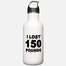 I Lost 150 Pounds! Water Bottle